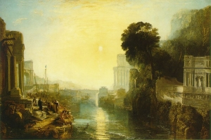 Dido building Carthage; or the Rise of the Carthaginian Empire 1815; Oil on canvas, 155.5 x 232 cm; National Gallery, London