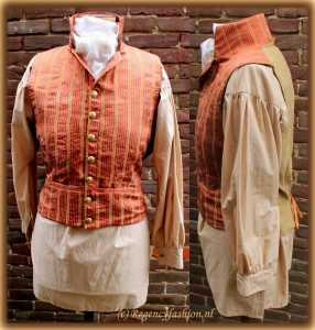 Russell waistcoat collage